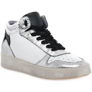 Zapatos Mujer Zapatillas altas At Go GO DUCK ARGENTO Grigio