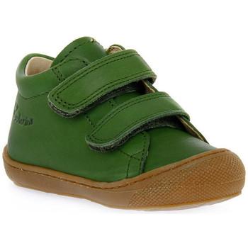 Zapatos Niño Zapatillas bajas Naturino F06 COCOON VL NAPPA KAKY Verde