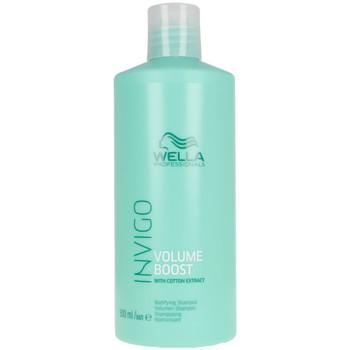 Belleza Mujer Champú Wella Invigo Volume Boost Shampoo  500 ml