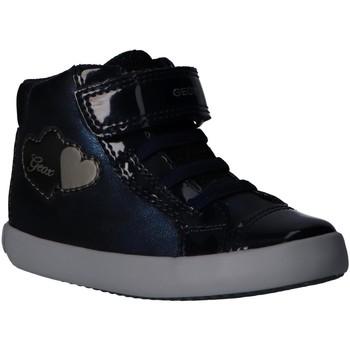 Zapatos Niña Deportivas Moda Geox B041MA 0PVHH B GISLI Azul