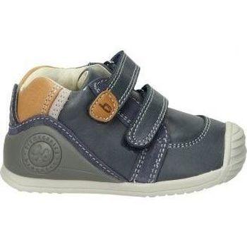 Zapatos Niños Botas de caña baja Biomecanics ZAPATOS  201120 A NIÑO AZUL Bleu