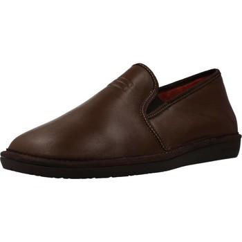 Zapatos Hombre Pantuflas Nordikas 7517 Marron