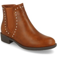 Zapatos Mujer Botines Prisska BB1070 Camel