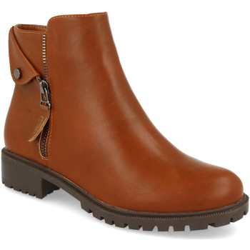 Zapatos Mujer Botines Prisska JSZ1052 Camel