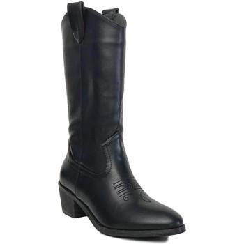 Zapatos Mujer Botas urbanas Prisska TY1036 Negro