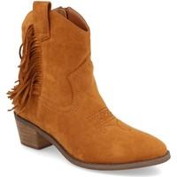 Zapatos Mujer Botines Prisska TY1038 Camel