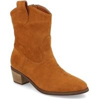 Zapatos Mujer Botines Prisska TY1060 Camel