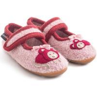 Zapatos Niña Pantuflas para bebé Haflinger 48311083 Rosa