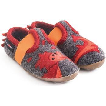 Zapatos Niños Pantuflas para bebé Haflinger 48311304 Grigio