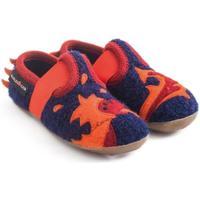 Zapatos Niños Pantuflas para bebé Haflinger 48311370 Blu