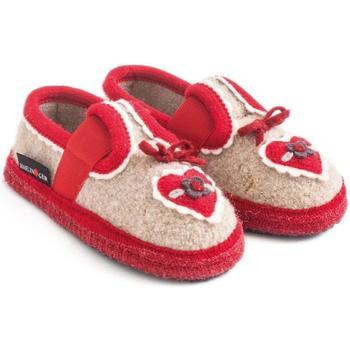 Zapatos Niños Pantuflas para bebé Haflinger 62306649 Beige