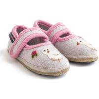 Zapatos Niña Pantuflas para bebé Haflinger 67306102 Grigio