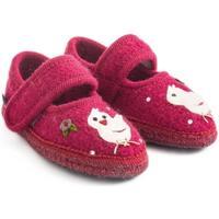 Zapatos Niña Pantuflas para bebé Haflinger 67306160 Rosso
