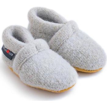Zapatos Niños Pantuflas para bebé Haflinger 65100502 Grigio