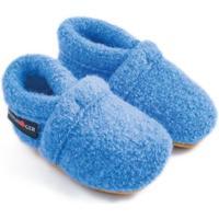 Zapatos Niños Pantuflas para bebé Haflinger 65100556 Blu