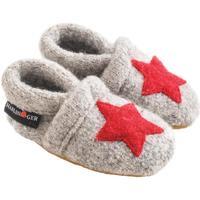 Zapatos Niños Pantuflas para bebé Haflinger 65306384 Grigio