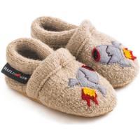 Zapatos Niños Pantuflas para bebé Haflinger 65306449 Beige