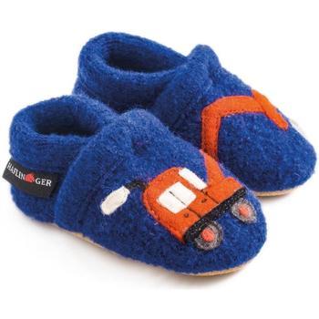 Zapatos Niños Pantuflas Haflinger 65306575 Blu