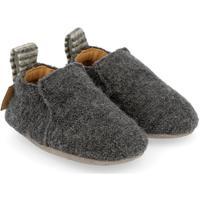 Zapatos Niños Pantuflas para bebé Haflinger 65100604 Grigio