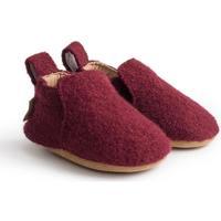 Zapatos Niños Pantuflas para bebé Haflinger 65100633 Rosso