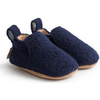 Zapatos Niños Pantuflas para bebé Haflinger 65100670 Blu