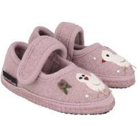 Zapatos Niños Pantuflas para bebé Haflinger 67306183 Rosa
