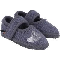 Zapatos Niños Pantuflas para bebé Haflinger 67306359 Blu