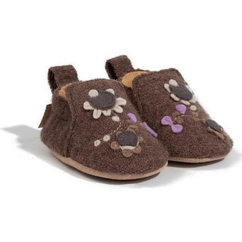 Zapatos Niños Pantuflas para bebé Haflinger 65307963 Marrone