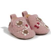 Zapatos Niña Pantuflas para bebé Haflinger 65307983 Rosa