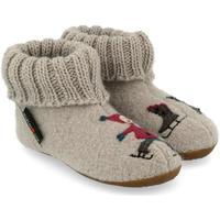 Zapatos Niños Pantuflas Haflinger 48313802 Grigio