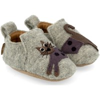 Zapatos Niños Pantuflas para bebé Haflinger 65308484 Grigio
