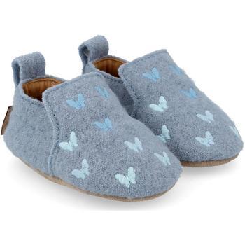 Zapatos Niños Pantuflas para bebé Haflinger 65404678 Blu
