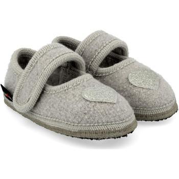 Zapatos Niños Pantuflas para bebé Haflinger 67306602 Grigio