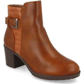 Zapatos Mujer Botines Prisska YC8350 Camel