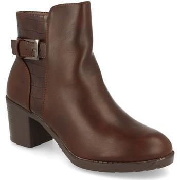 Zapatos Mujer Botines Prisska YC8350 Marron