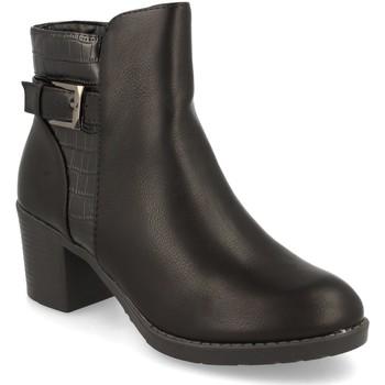 Zapatos Mujer Botines Prisska YC8350 Negro