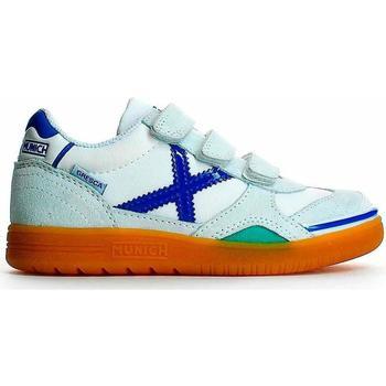 Zapatos Niño Sport Indoor Munich 1508604 Blanco