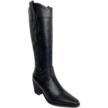 Zapatos Mujer Botas urbanas Priskka TY-1068 Negro