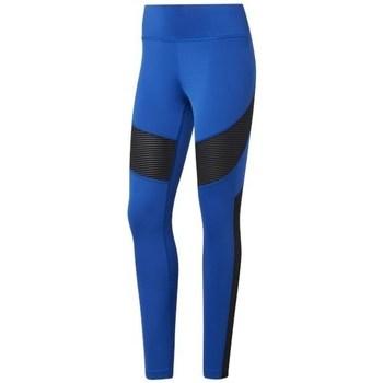 textil Mujer Leggings Reebok Sport Wor Mesh Tight Negros, Azul