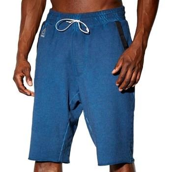 textil Hombre Pantalones cortos Reebok Sport Combat Noble Fight Washed Azul