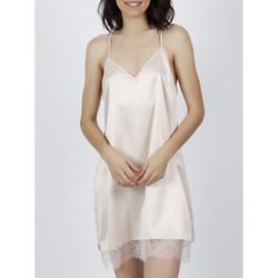 textil Mujer Pijama Admas Babydoll Navy y Black ivory Amarillo