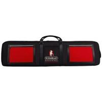 Bolsos Mochila de deporte Scharlau Shennan - EXCLUSIVE ONLINE Negro / Rojo