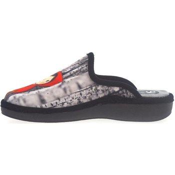 Zapatos Hombre Pantuflas Salvi Zapatillas de Casa  01T 362 Negro Negro