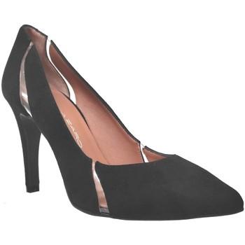 Zapatos Mujer Zapatos de tacón Brenda Zaro F3779 Terciopelo negro