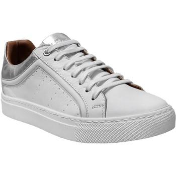 Zapatos Mujer Zapatillas bajas K.mary Clan Blanco/Plata