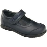 Zapatos Niña Derbie Pablosky Colegiales Merceditas de piel by Bleu