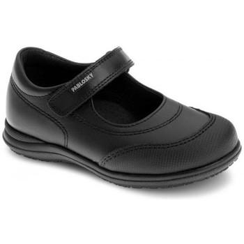 Zapatos Niña Derbie Pablosky Colegiales Merceditas de piel by Noir