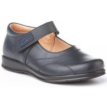 Zapatos Niña Zapatillas bajas Angelitos Colegiales merceditas de piel by Bleu