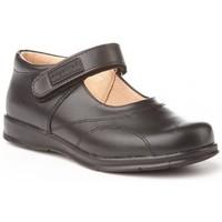 Zapatos Niña Zapatillas bajas Angelitos Colegiales merceditas de piel by Noir