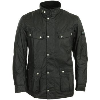 textil Hombre Parkas Barbour International Duke Wax Jacket Negro